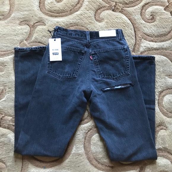 d05473e4db10 Re Done ass rip high rise jeans